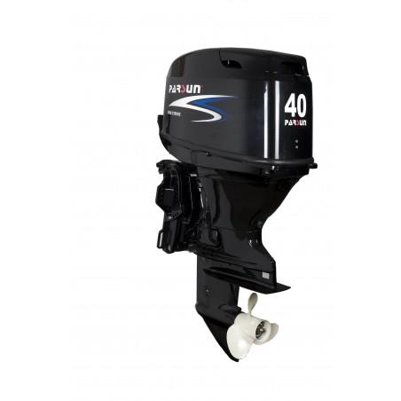 F40FWL-T-EFI, 3 Zylinder, 40PS Aussenbordmotor, Elektrostarter, Langschaft, inkl. Vernbedienung, elektro Tilt