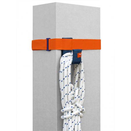 SeaEQ-Pile-Hook-Strap, 4 Slots, inkl. Haken