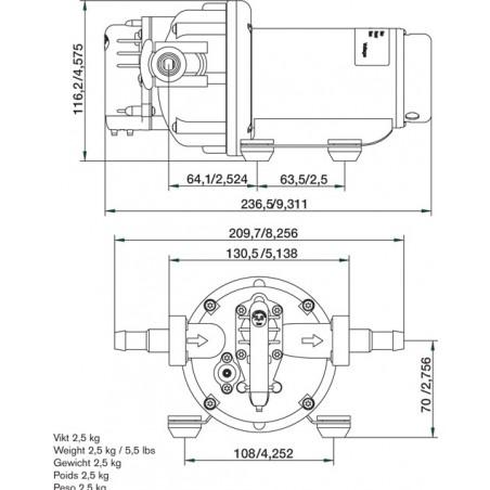 10-13395-04 - SPX / Johnson WPS3.5, 24 Volt / 2.8 bar
