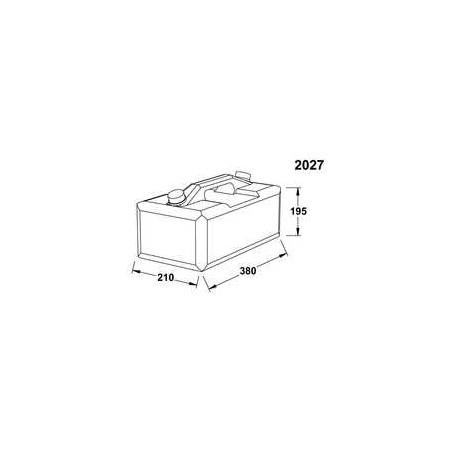 2027 - Wallas Brennstofftank 10 Liter